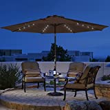 Sundale Outdoor 11FT 40 LED Lights Aluminum Patio