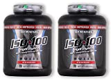 ISO 100 - Strawberry - 5 lb lb (2 Pack)