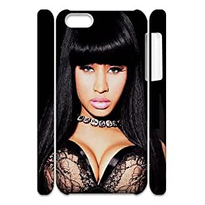 ZK-SXH - Nicki Minaj Personalized 3D Phone Case for iPhone 5C,Nicki Minaj Customized 3D Cell Phone Case