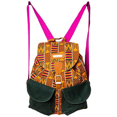Rucksack aus Kenia Afrika - Viele Modelle - Unikat, Handarbeit, Bunt, Tasche, (SBP02021) SBP02019