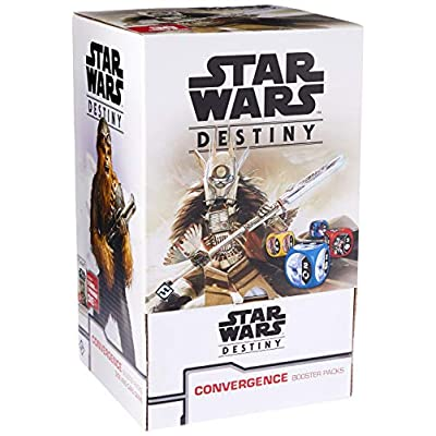 Star Wars: Destiny Convergence Booster Packs Gravity Feed Display (36): Toys & Games