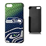 Team Pro Mark Licensed NFL Seattle Seahawks Slim Series Protector Case for Apple iPhone 5/5S - Retail Packaging - Green/Blue/White
