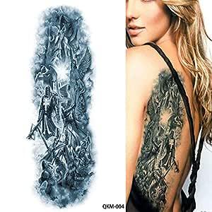 7pcs Rosa grande del brazo del tatuaje mangas mangas del tatuaje ...