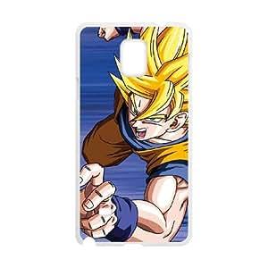 Samsung Galaxy Note 4 Cell Phone Case White Dragon Ball Z Goku SLI_587772