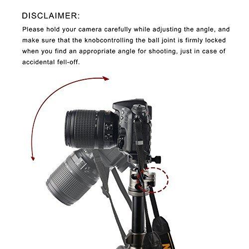 Camera Tripod ,BONFOTO Carbon Fiber Travel B674C Tripod Lightweight Heavy Duty Portable with 1/4\