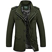 Men's Cotton Military Tactical Outwear Combat Bomber Jacket Coats Tops Large Size
