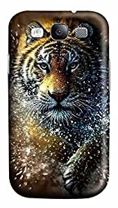 Samsung Galaxy S3 I9300 Cases & Covers - Tiger Splash Custom PC Soft Case Cover Protector for Samsung Galaxy S3 I9300