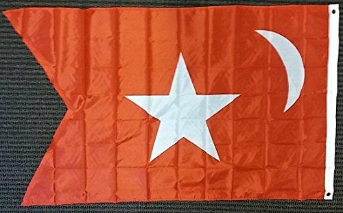 FLAG DISTRIBUTOR South Carolina Secession Polyester 3x5 Foot Flag US Historical Banner Civil War