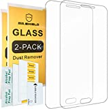 [2-PACK]-Mr Shield For Samsung Galaxy A8 [Tempered Glass] Screen Protector with Lifetime Replacement Warranty