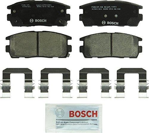 Bosch BC1275 QuietCast Premium Ceramic Disc Brake Pad Set For Select Chevrolet Captiva Sport, Equinox; GMC Terrain; Pontiac Torrent; Saturn Vue; Suzuki XL-7; Rear