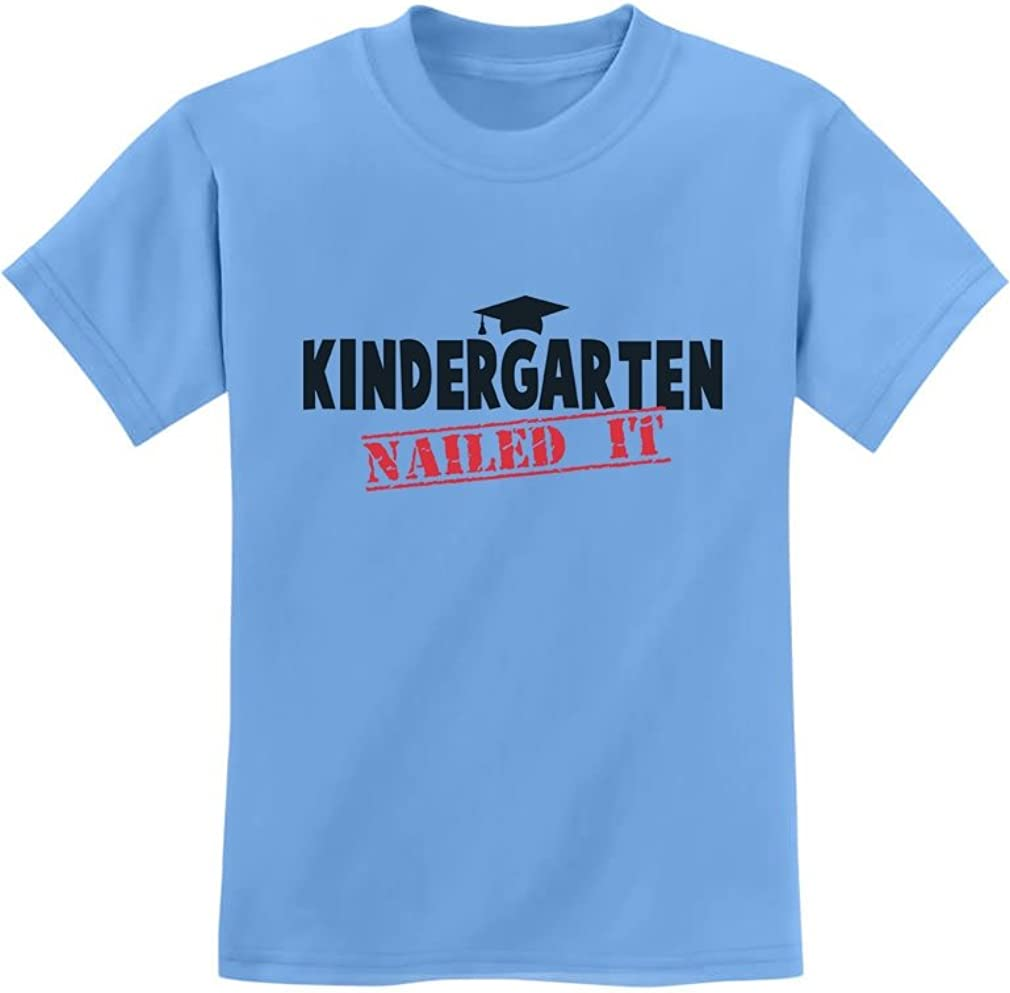 Kindergarten Graduate Funny Graduation Gift Idea Youth Kids T-Shirt TeeStars