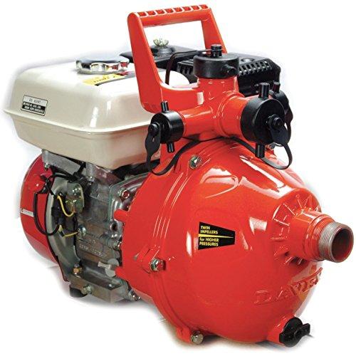 Davey Firefighter 5 High-Pressure Twin-Impeller Fire Pump w/GX200 6.5hp Recoil Start Engine