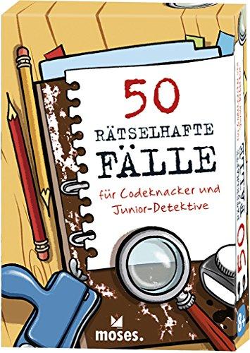 Price comparison product image 50 rätselhafte Fälle für Codeknacker und Junior-Detektive