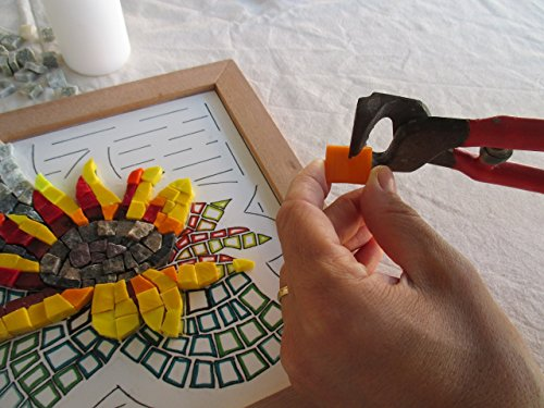 Sunflower 9 X9 Diy Mosaic Craft Kit For Adults Birthday