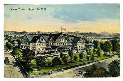 Margo Terrace Postcard Asheville North Carolina (North Terrace)