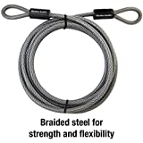 Master Lock 72DPF Steel Cable with Looped Ends, 1