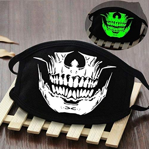 Gerbrief 1PC Adult Halloween Print Face-Madks Multiple Styles Breathable Reusable Washable Outdoor Soft Anti-Haze Màsc F#ce-CoVering