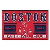 Fanmats 18462 Boston Red Sox Baseball Club Starter Rug