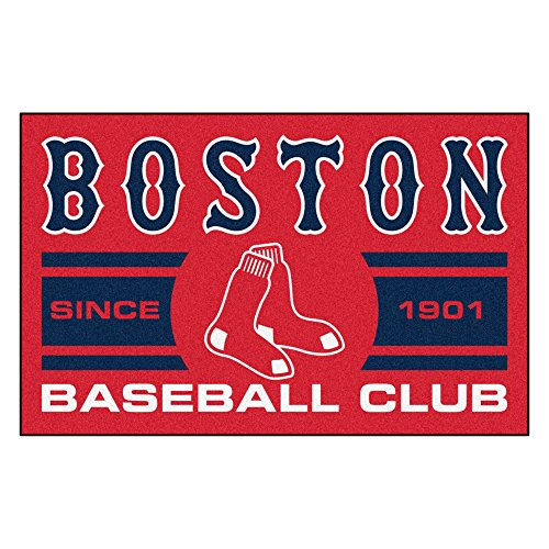 FANMATS 18462 Boston Red Sox Baseball Club Starter - Rug Sox Starter