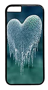 iPhone 6 Plus Case, Cold Heart Designer Rugged Hard Plastic Back Case Cover Protector for Apple iPhone 6 Plus(5.5INCH) PC Black