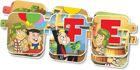 El Chavo Del 8 Letrero Movil Jointed Party Banner