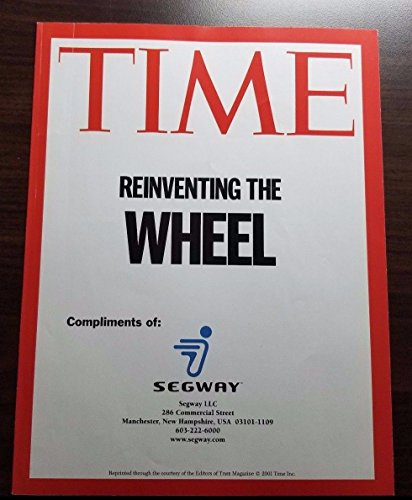 Dean Kamen Hand Signed Time MAG Supplement Autograph SIG Auctions W/CoA Segway from Unknown