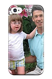 Awesome Case Cover/iphone 4/4s Defender Case Cover(babies With Down Syndrome )