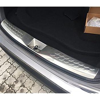 Fits for Prado FJ150 2010-2018 Stainless Steel Rear Door Plate Bumper Cover Trim