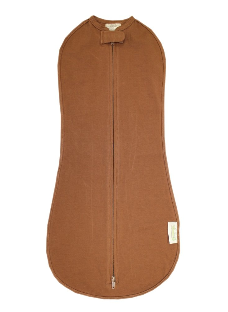 Woombie Original One-Step Baby Swaddle (Big Baby (14-19 lbs), Cocoa Puff)