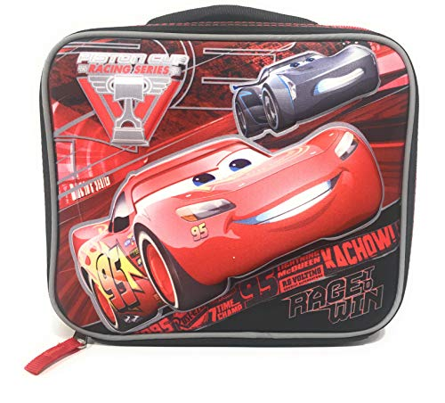 Disney Cars Boys Insulated School Lunch Bag With McQueen 3d