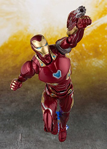 Amazon Com Tamashii Nations Bandai S H Figuarts Iron Man Mk 50