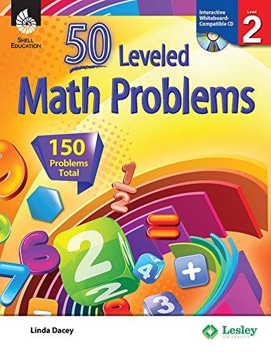 50 Leveled Math Problems Level 2