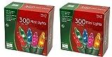 Noma/Inliten Holiday Wonderland's 300 Mini Lights Set (Pack of 2)