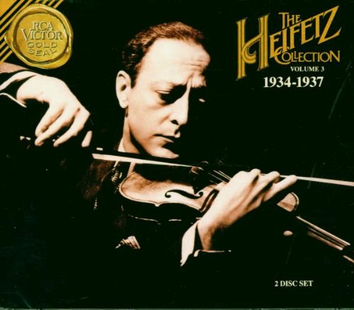 Heifetz Collection, Vol 3 (1934-1937)