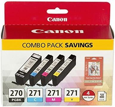 25 Pack Hi Yield Ink Set for Canon Series PGI-270 CLI-271 MG6822 TS5020 TS6020