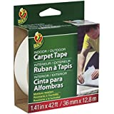 Duck Brand 392907 Indoor/Outdoor Carpet Tape, 1.41-Inch x 42 Feet, Single Roll