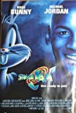 #5: Space Jam Original 1996 Pre Movie Release Full Size Poster Michael Jordan Bugs