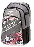 Mizuno 360255 Pride Grey / Navy Backpack Batpack Baseball & Softball New!