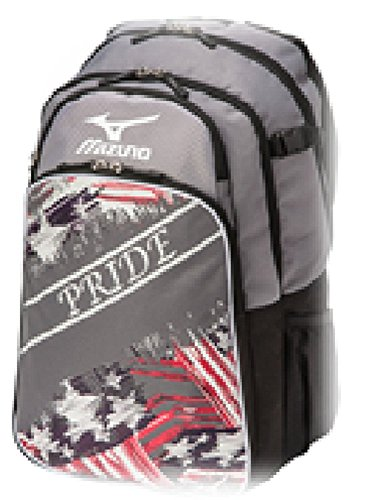 Mizuno 360255 Pride Grey / Navy Backpack Batpack Baseball & Softball New! by Mizuno