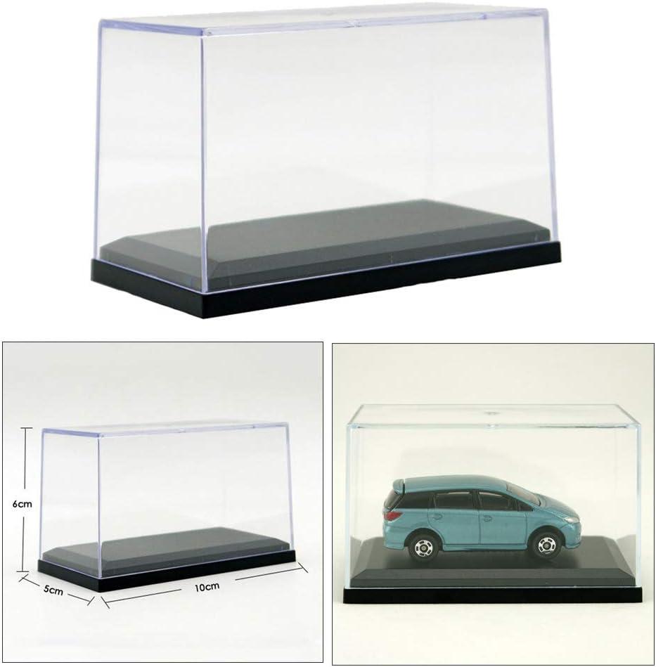 perfeclan La Vitrina De Acr/ílico para Exhibici/ón De Autos Modelo Se Adapta A Hotwheels