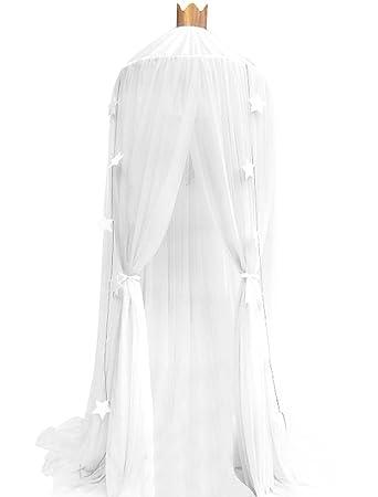 laami Mosquitera de Dosel para Camas Infantiles con Cúpula Redonda Princesa Mosquitera Decoración o Protección Ante Insectos para Niños (60cmx240cm): ...