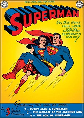 Ata-Boy DC Comics Superman No.57 'Lois Lane Can Do Everything' 2.5