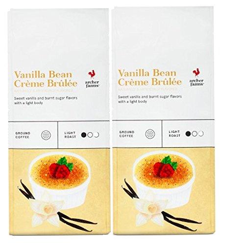 2 Pks Archer Farms Vanilla Bean Creme Brulee Ground Coffee -12 oz EA