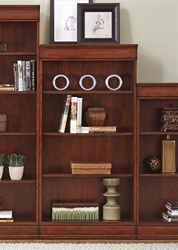 Liberty Furniture 101-HO3060-RTA Louis Jr Executive Bookcase, 30