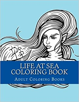 life at sea coloring book large print one sided relaxing sea coloring book for grownups women men youths easy ships and boats designs patterns coloring book ships boats sea ocean