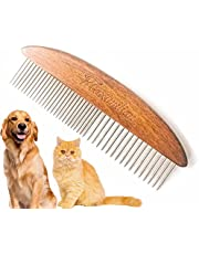 Solid Wood Pet Comb Grooming Tool for Cats,Dogs and rabbits