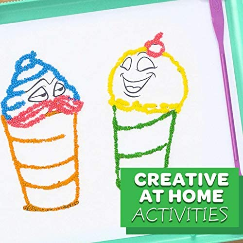 Crayola Sprinkle Art Shaker at Home Crafts for Kids Rainbow Arts and Crafts