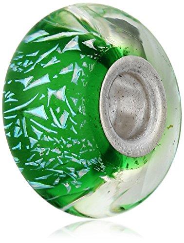 Chamilia Prismatic Bead Charm (Green Beads Murano Pugster)