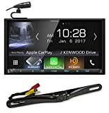 "Kenwood DMX7704S 6.95"" Digital Media Receiver w/Bluetooth/Car Play+Backup Camera"