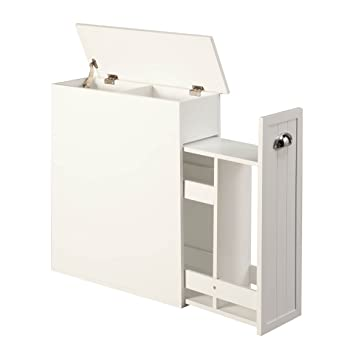 Amazon.com: Miles Kimball Slim Bathroom Storage Cabinet By OakRidgeTM:  Automotive